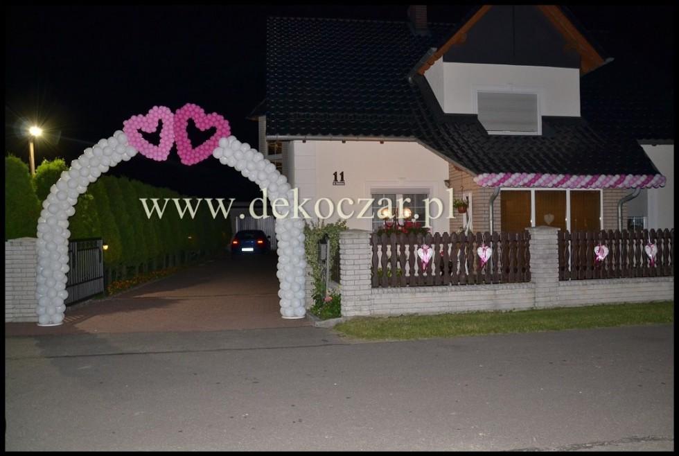 17 dekoracje balonowe olesno