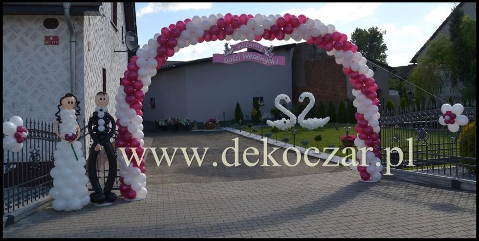 20 dekoracje balonowe olesno