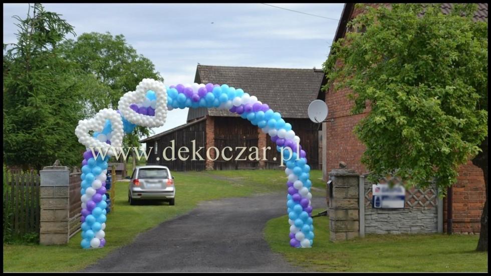 15 dekoracje balonowe olesno