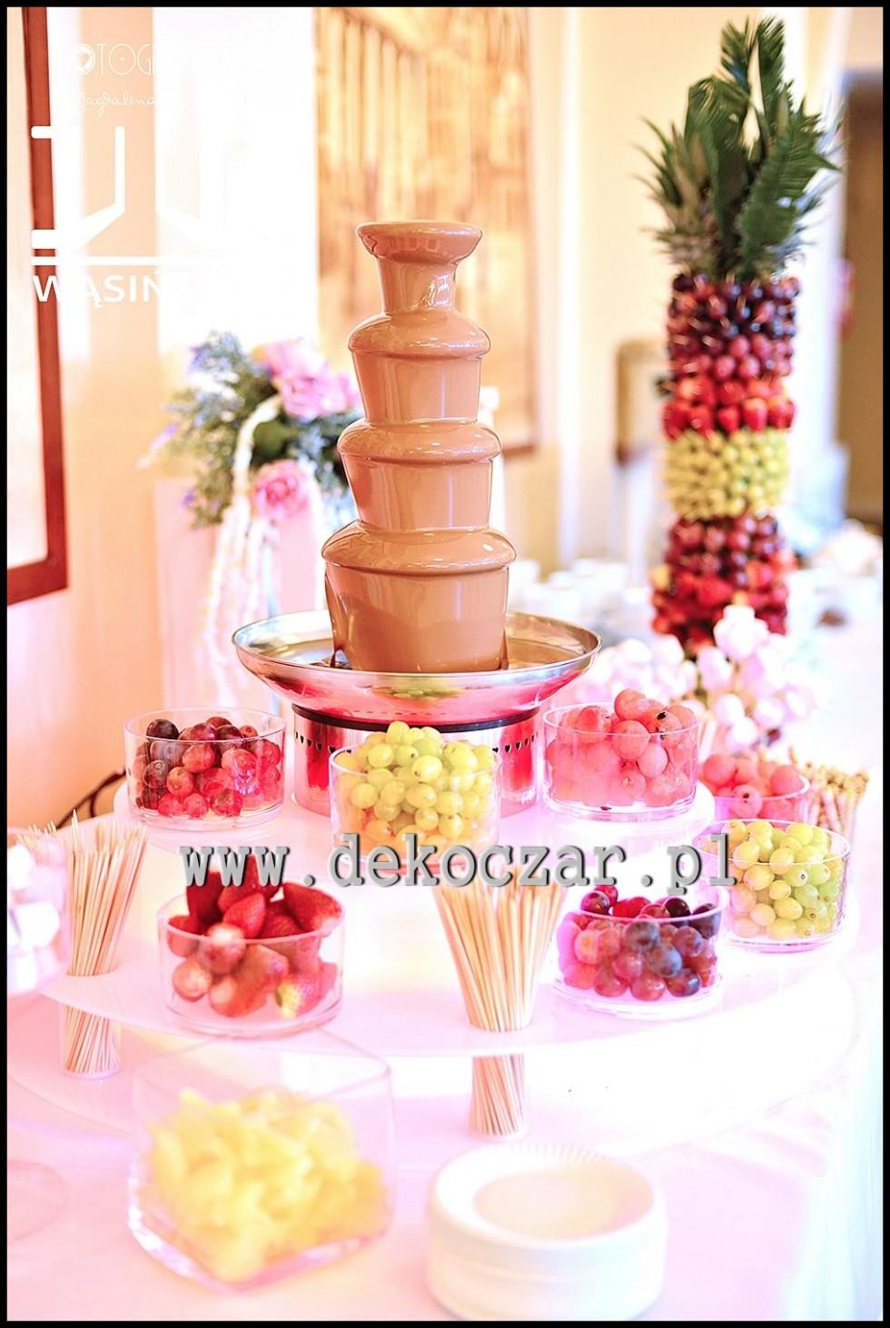 fontanny czekoladowe olesno