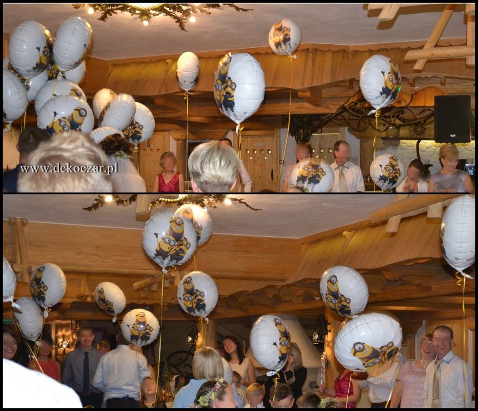 balony wesele