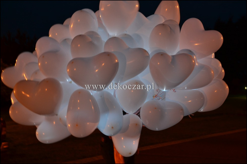 balony led olesno
